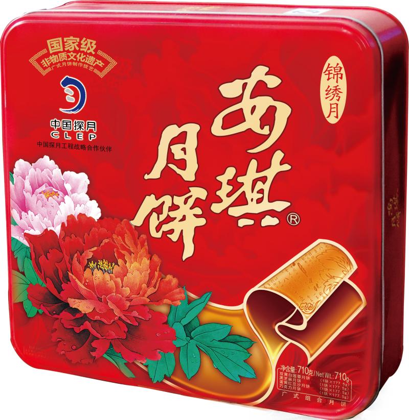 安琪月饼(安琪锦绣月月饼)