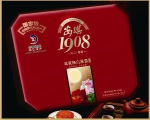 【安琪月饼】1908安琪双黄白莲容月蓉月饼)