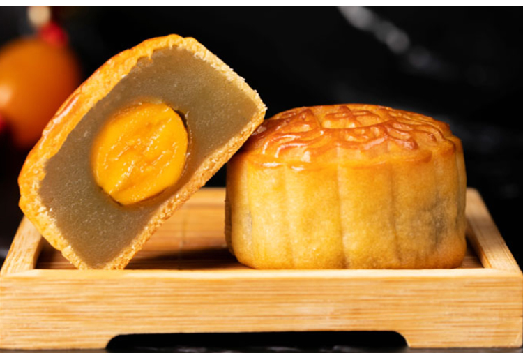 加工OEM安琪水果蛋黄月饼